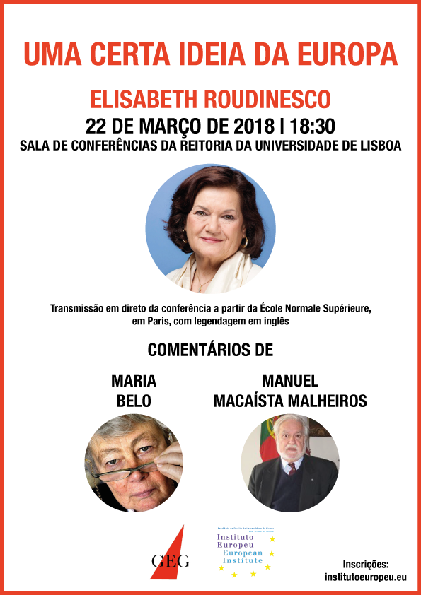 Cartaz Elisabeth Roudinesco WEB